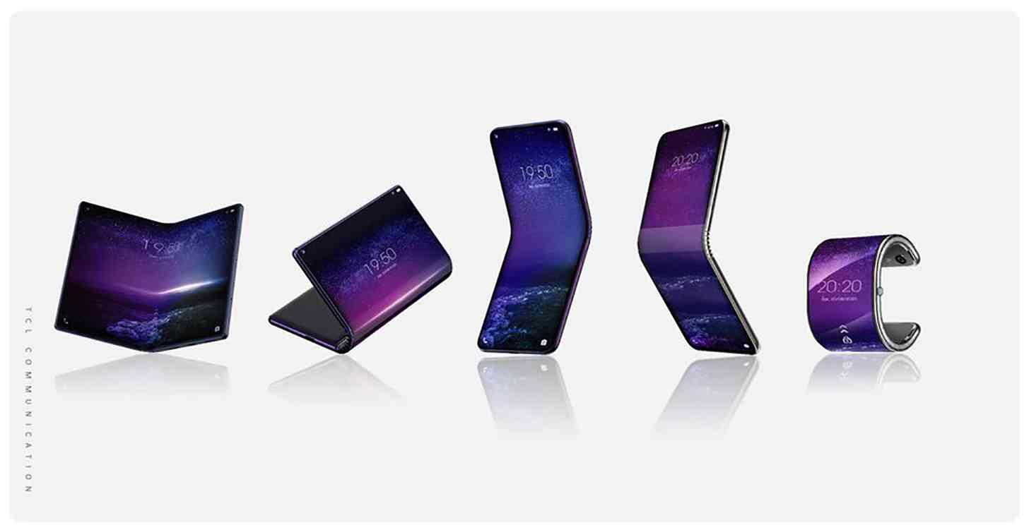 TCL foldables phone smartwatch