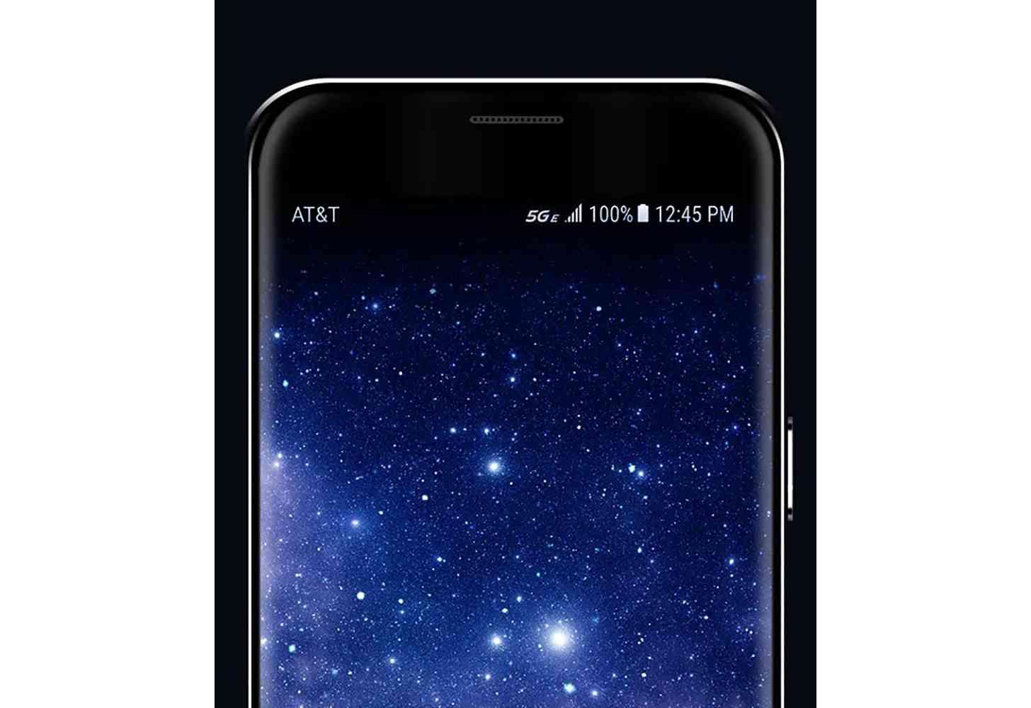 AT&T 5G E indicator