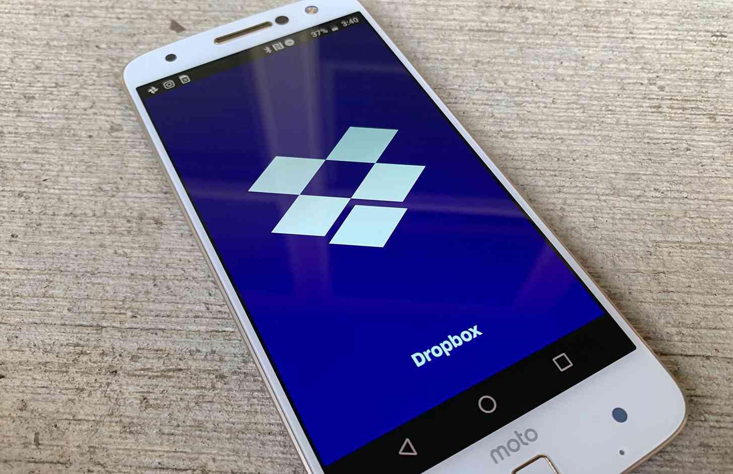 Dropbox Android app