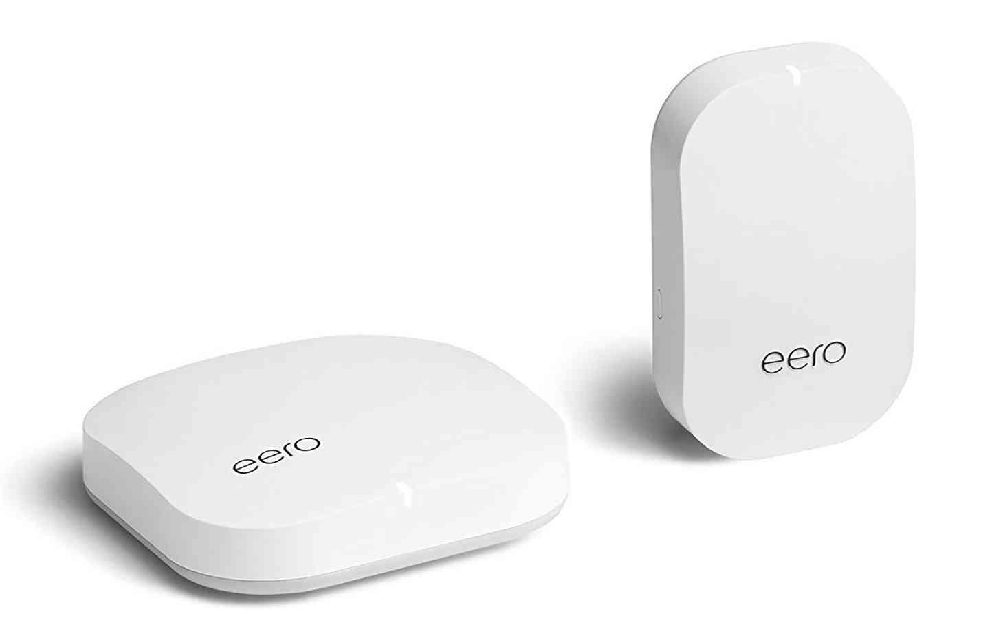 Eero router and beacon