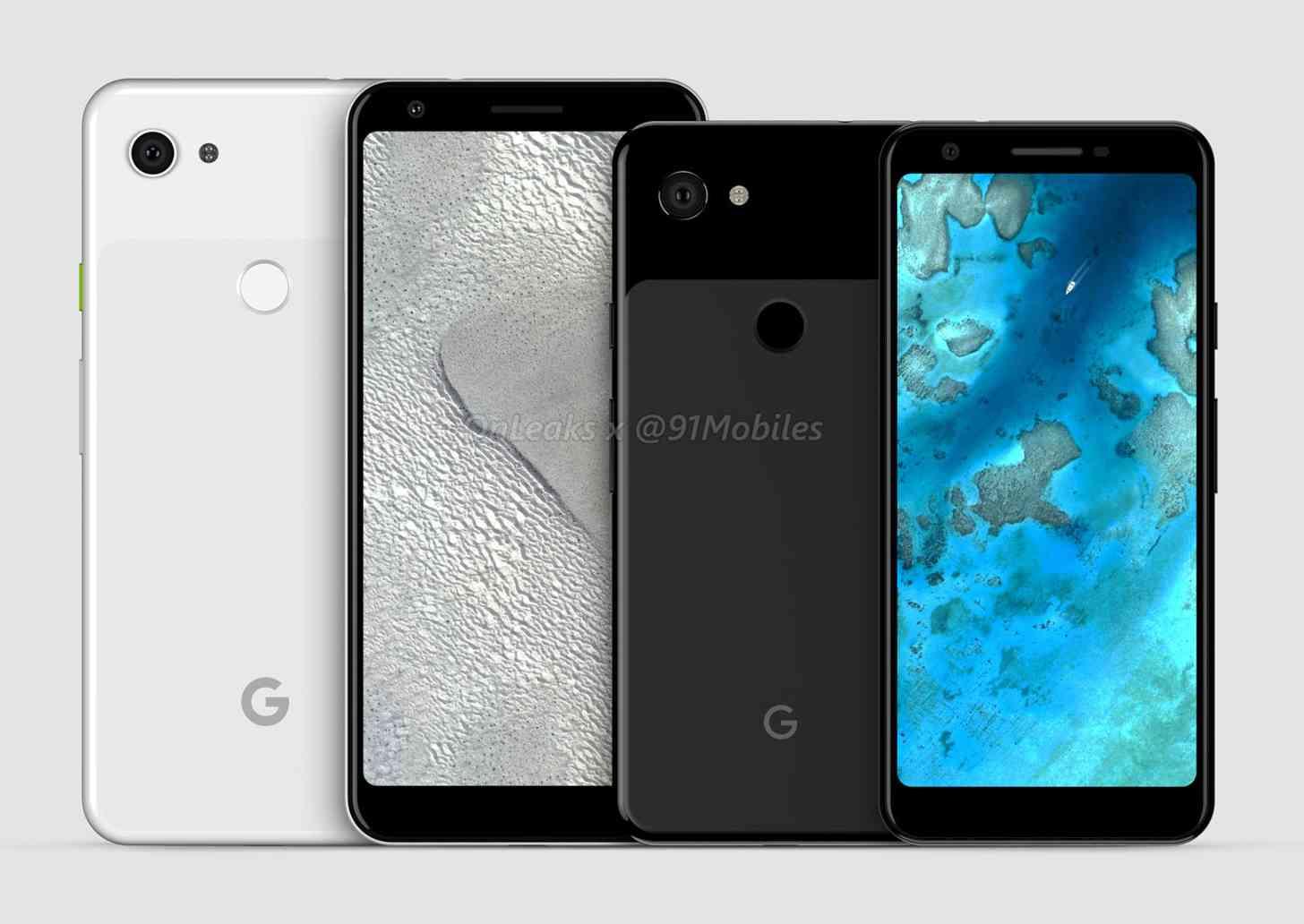 Google Pixel 3a XL, Pixel 3a
