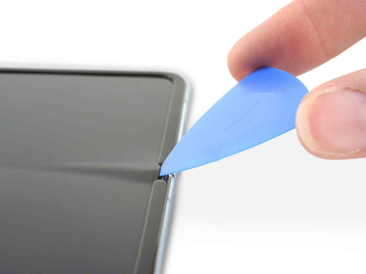 Samsung Galaxy Fold display gap