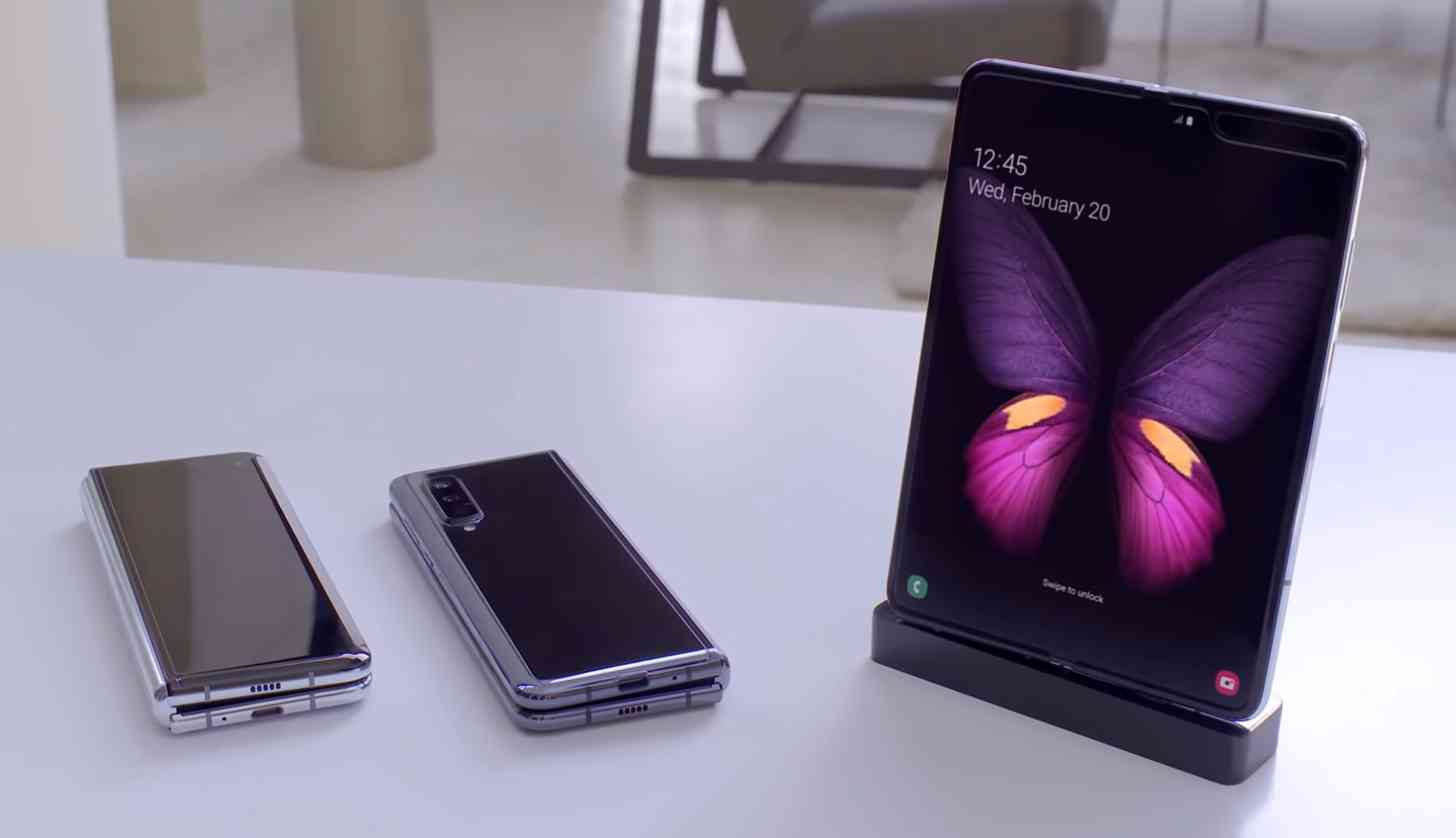 Samsung Galaxy Fold unfolded
