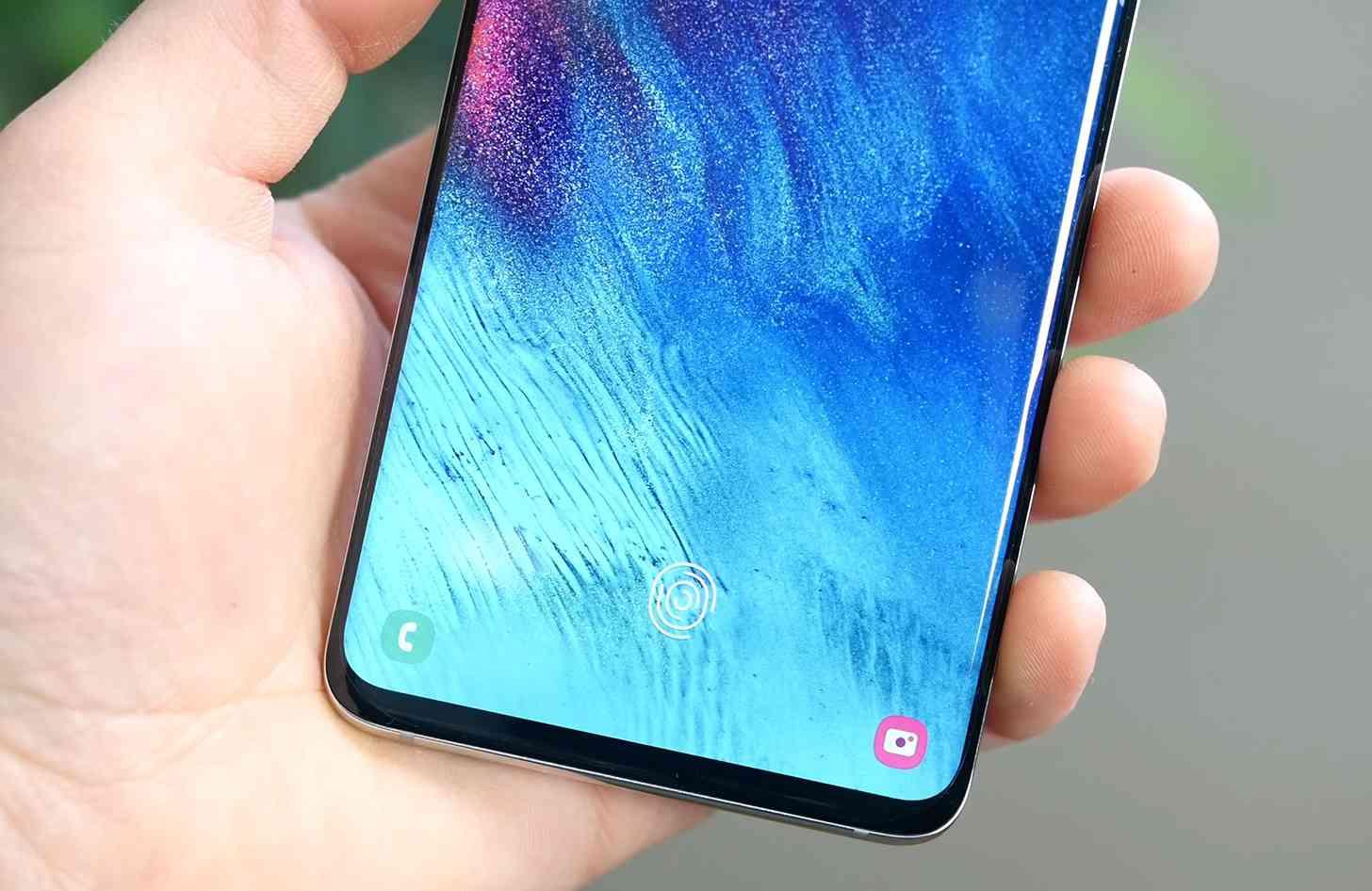 Samsung Galaxy S10 fingerprint sensor