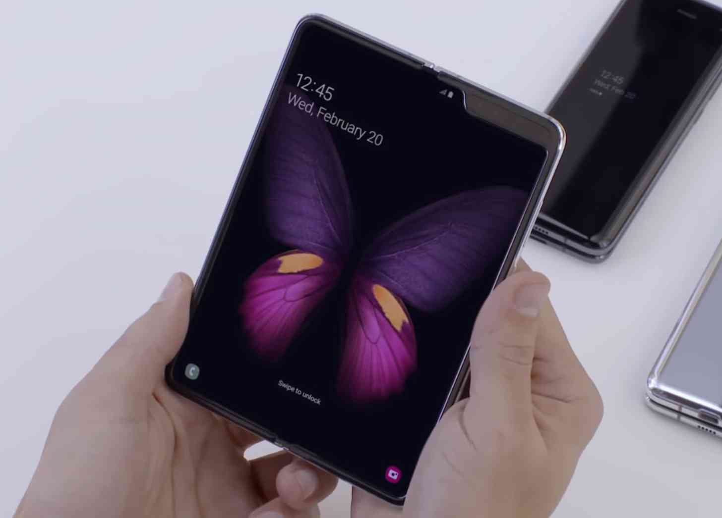 Samsung Galaxy Fold hands-on