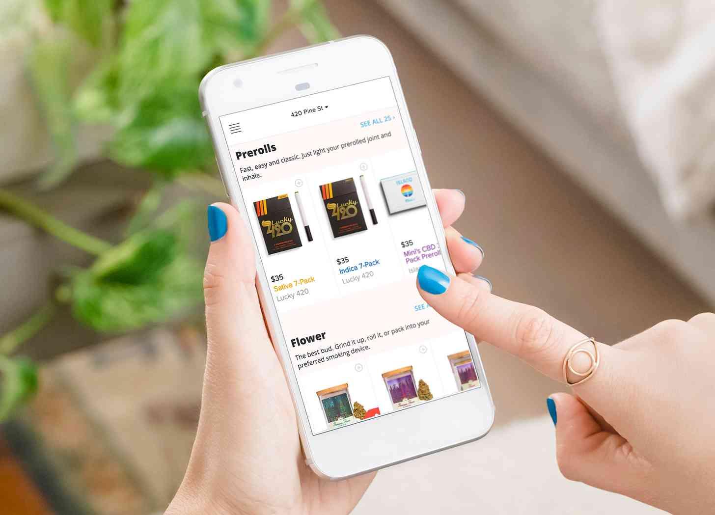 Eaze marijuana app Android