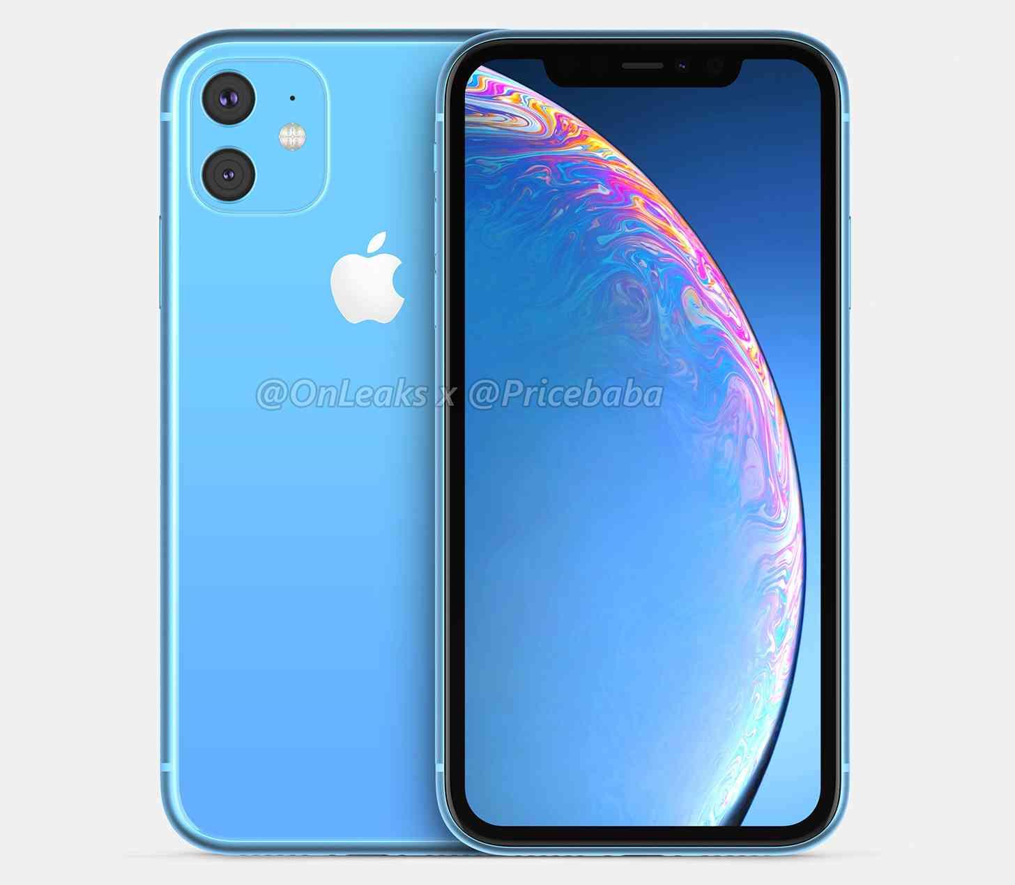 2019 iPhone XR blue
