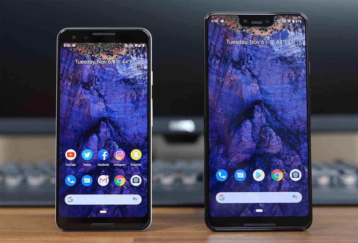 Pixel 3, Pixel 3 XL