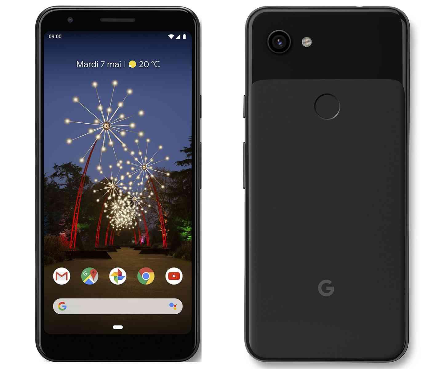 Pixel 3a Just Black