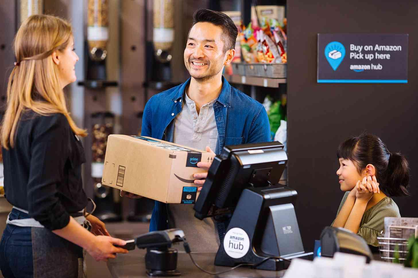 Amazon Counter service