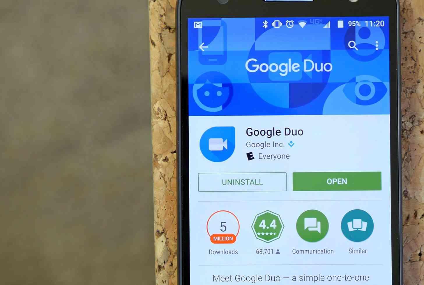 Google Duo app