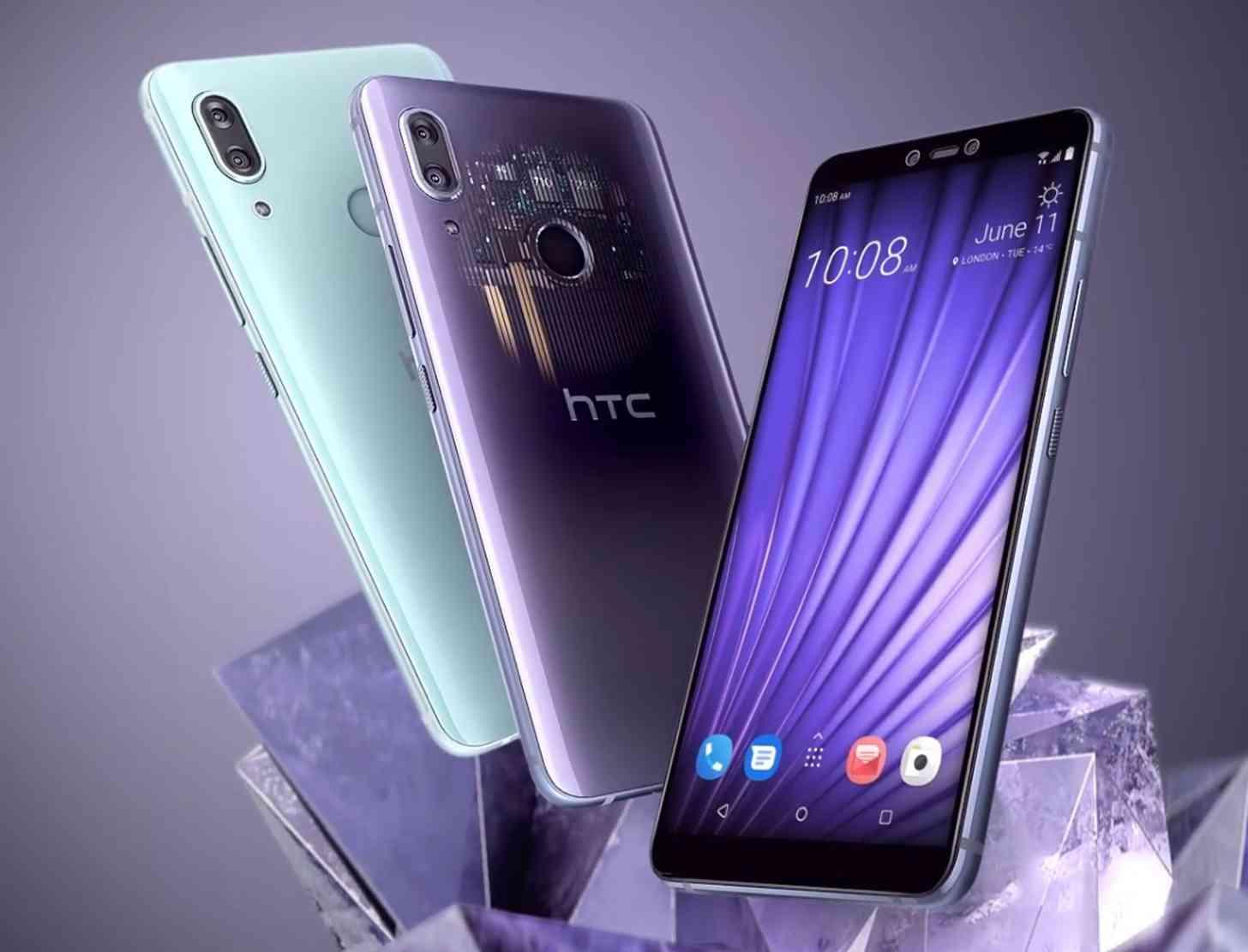 HTC U19e official