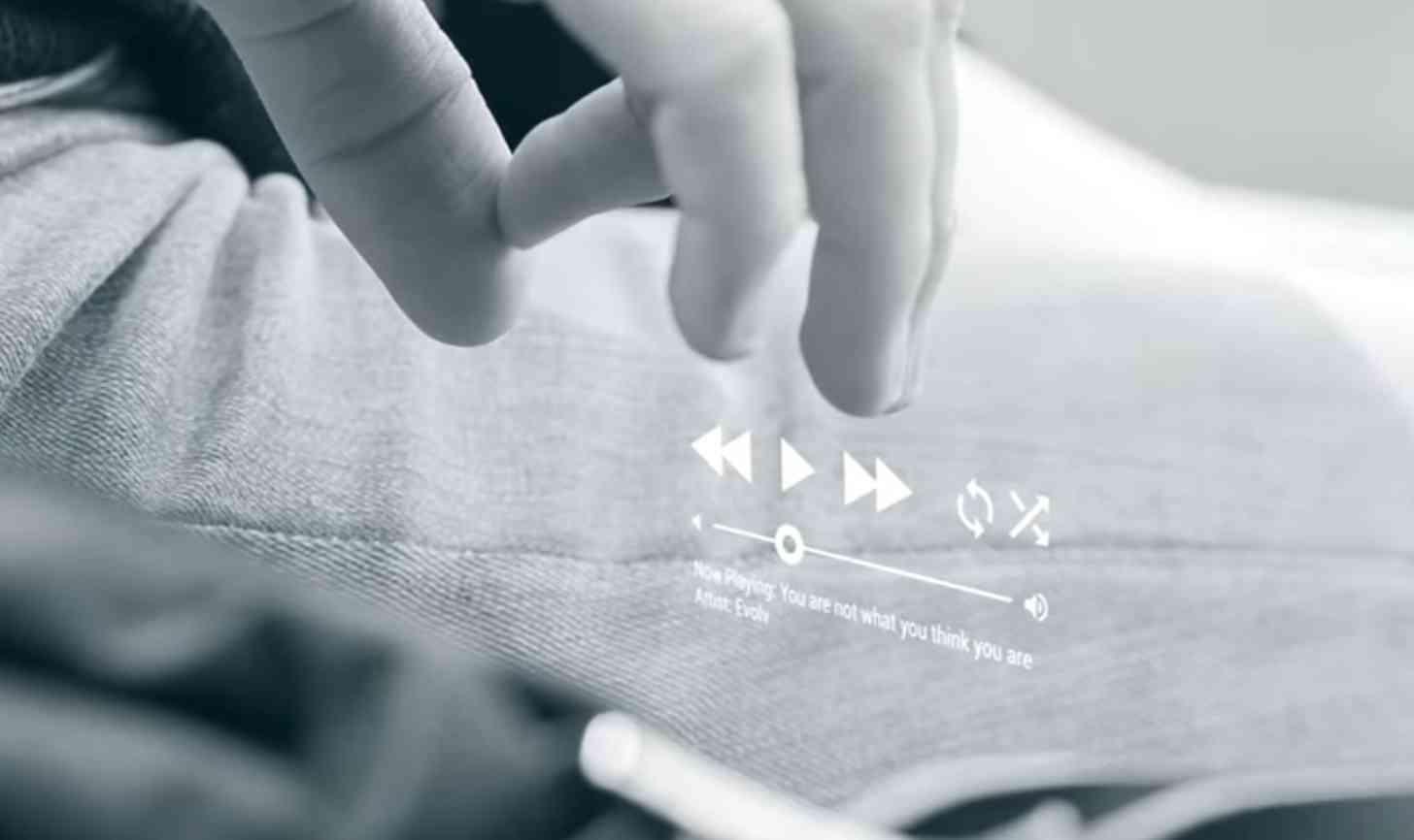 Project Soli audio hesture control