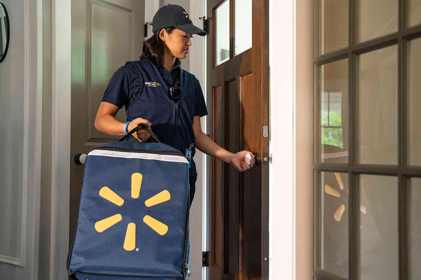 Walmart InHome Delivery groceries