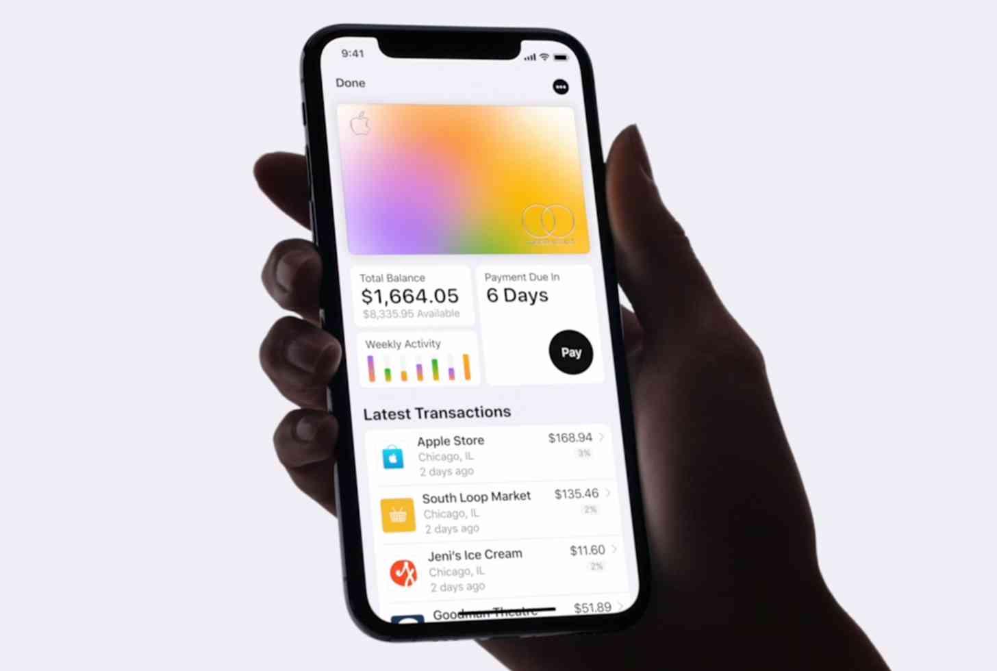 Apple Card Wallet app