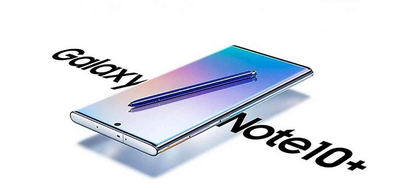 Samsung Galaxy Note 10+ render leak
