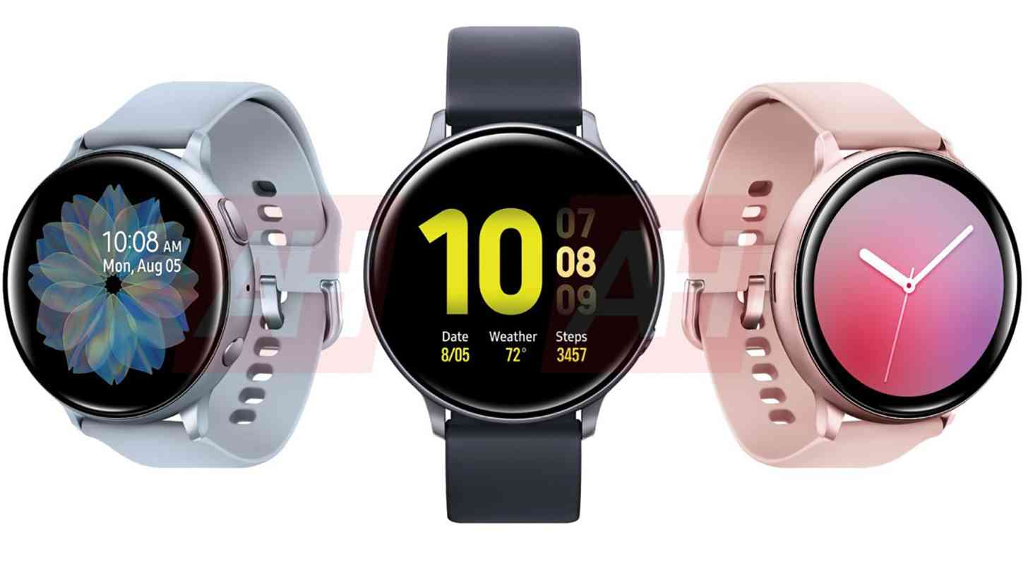Samsung Galaxy Watch Active 2 renders leak