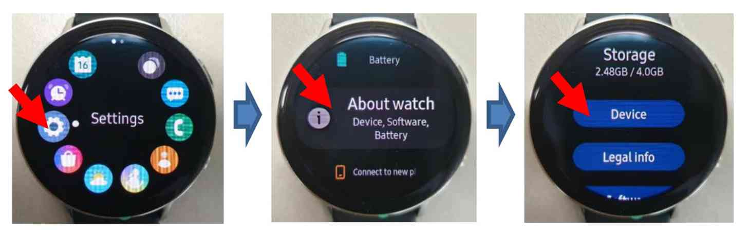 Samsung Galaxy Watch Active 2 FCC