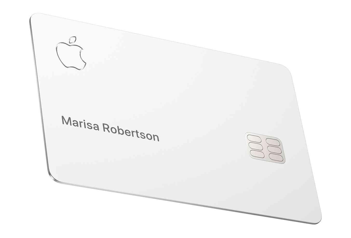 Titanium Apple Card