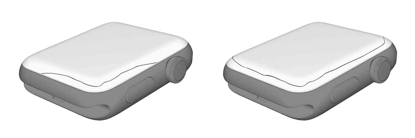 Apple Watch Series 2, 3 screen crack