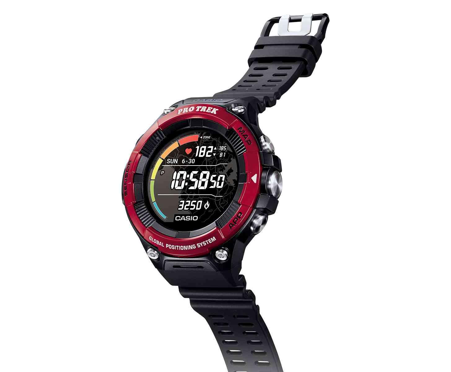 Casio WSD-F21HR Wear OS smartwatch