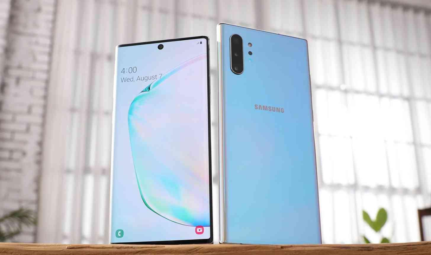 Samsung Galaxy Note 10, Note 10+