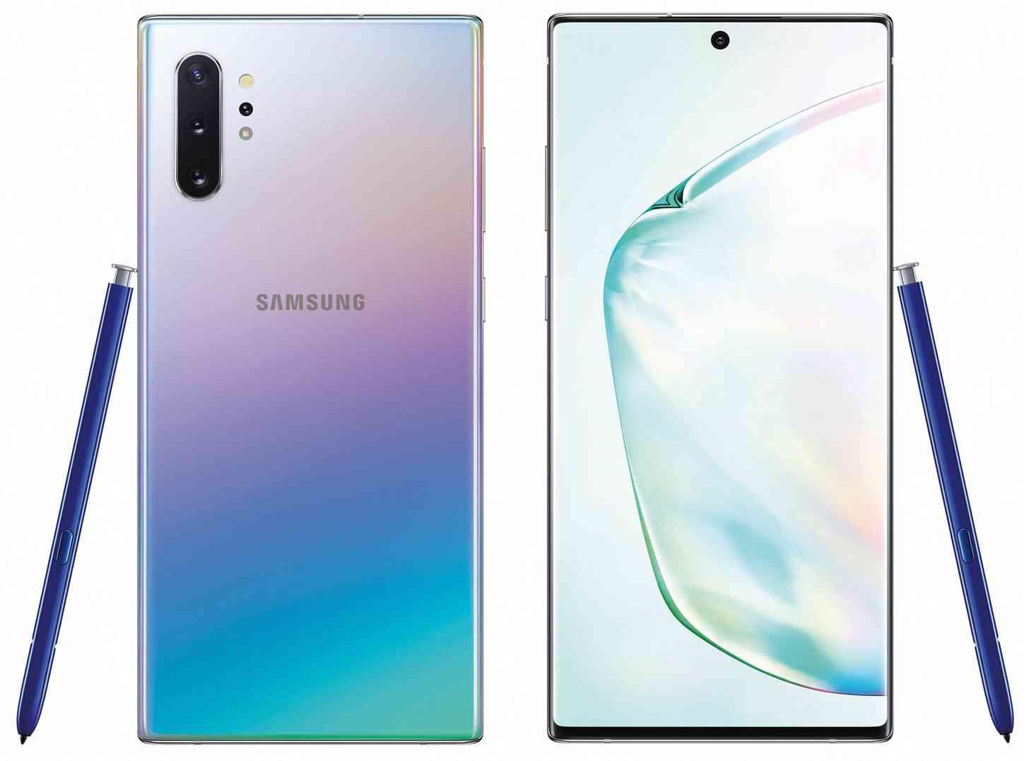 Samsung Galaxy Note 10+ gradient color