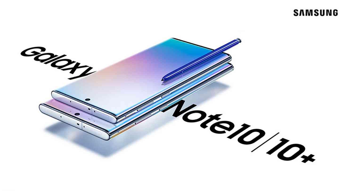 Samsung Galaxy Note 10 promo materials leak