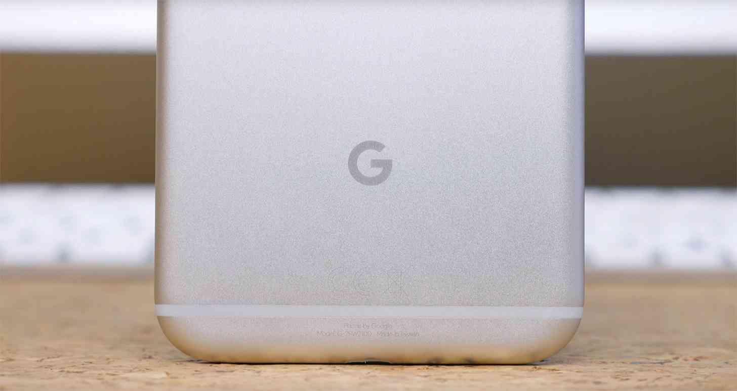 Google logo Pixel