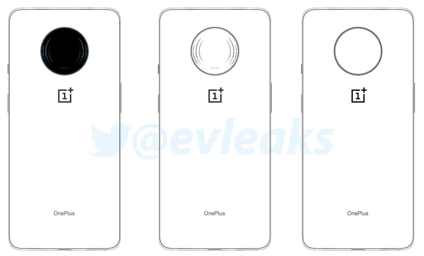 OnePlus 7T sketches leak