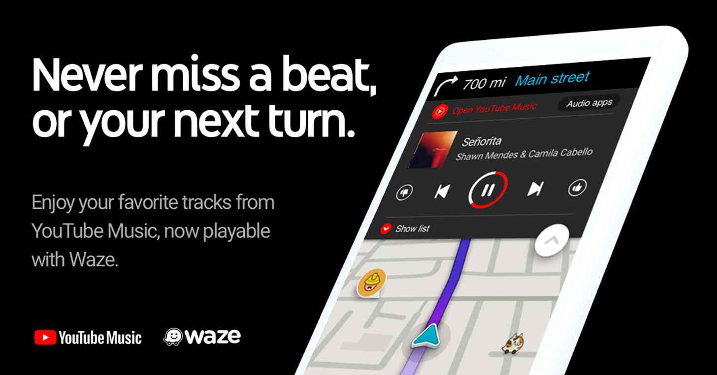 Waze YouTube Music
