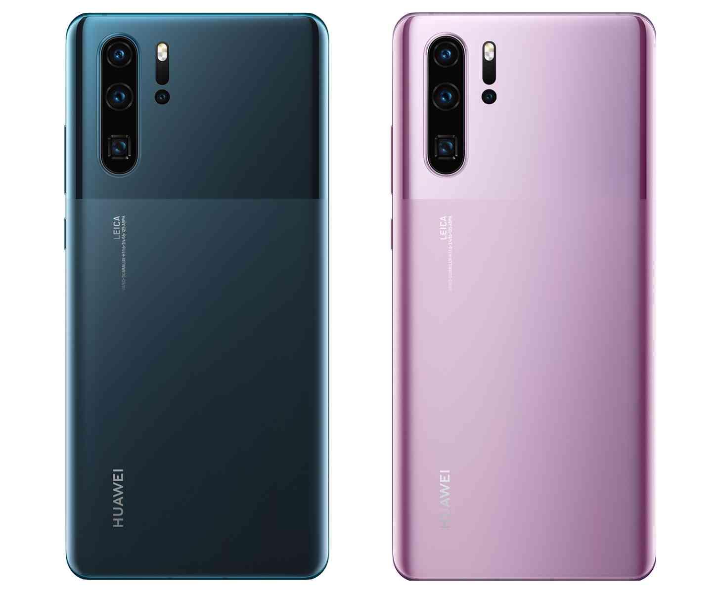 Huawei new P30 Pro dual finish