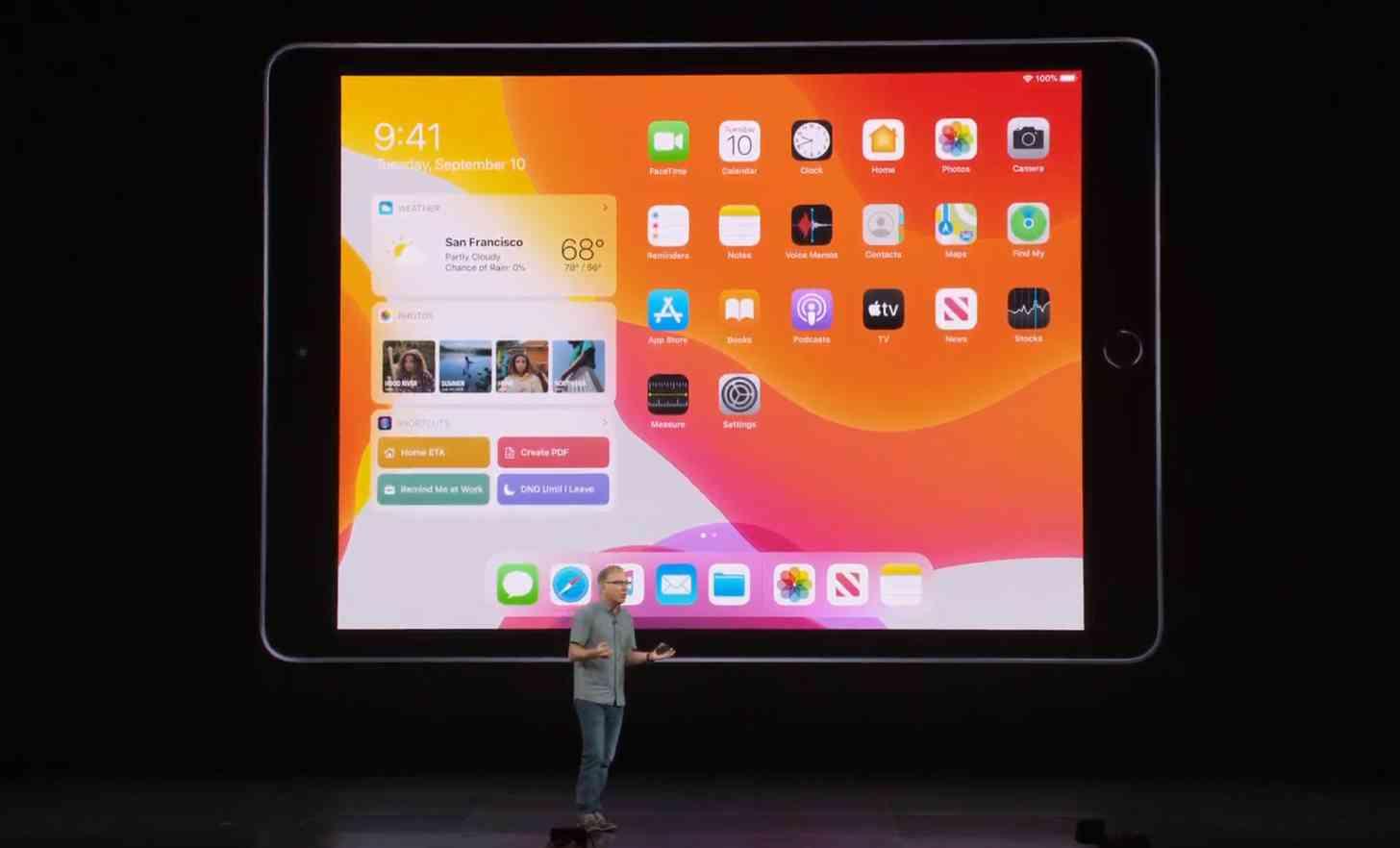 iPad 7th Gen 10.2-inch screen