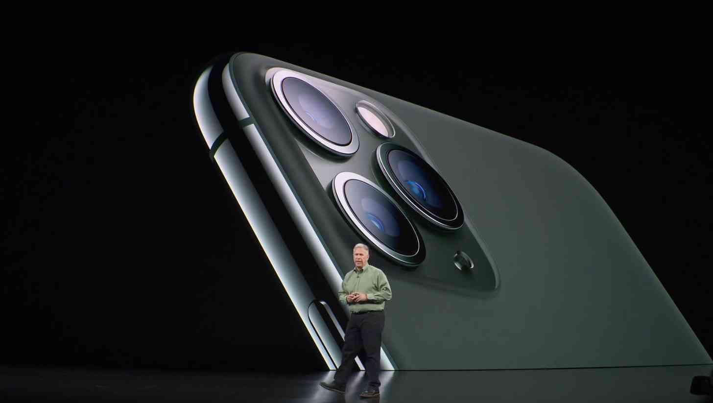 iPhone 11 Pro triple cameras