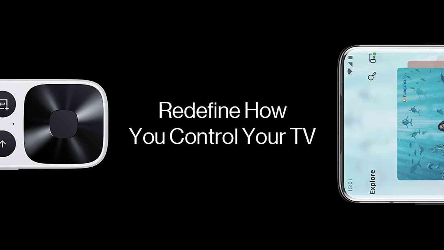OnePlus TV smartphone remote