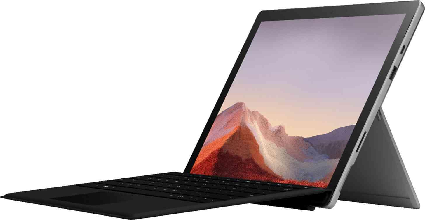 Surface Pro 7 leak keyboard