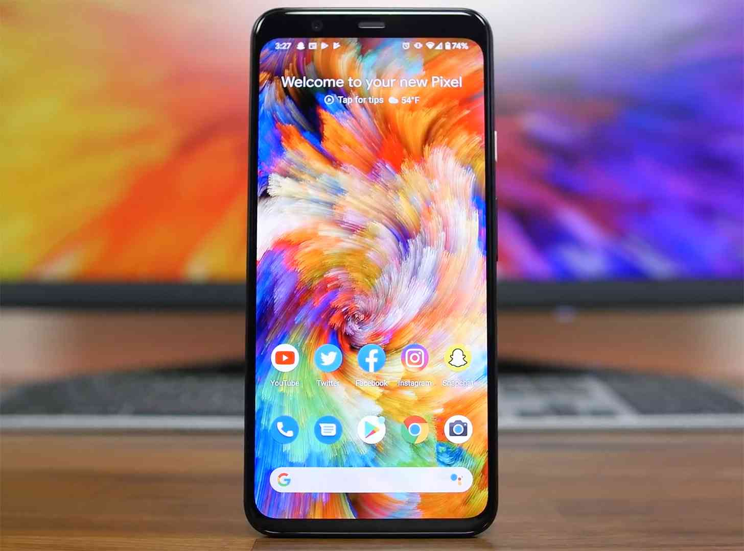 Pixel 4 XL hands-on video