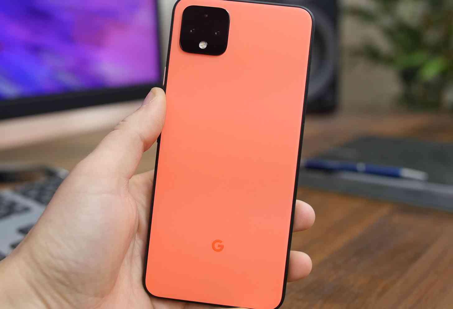 Pixel 4 XL orange