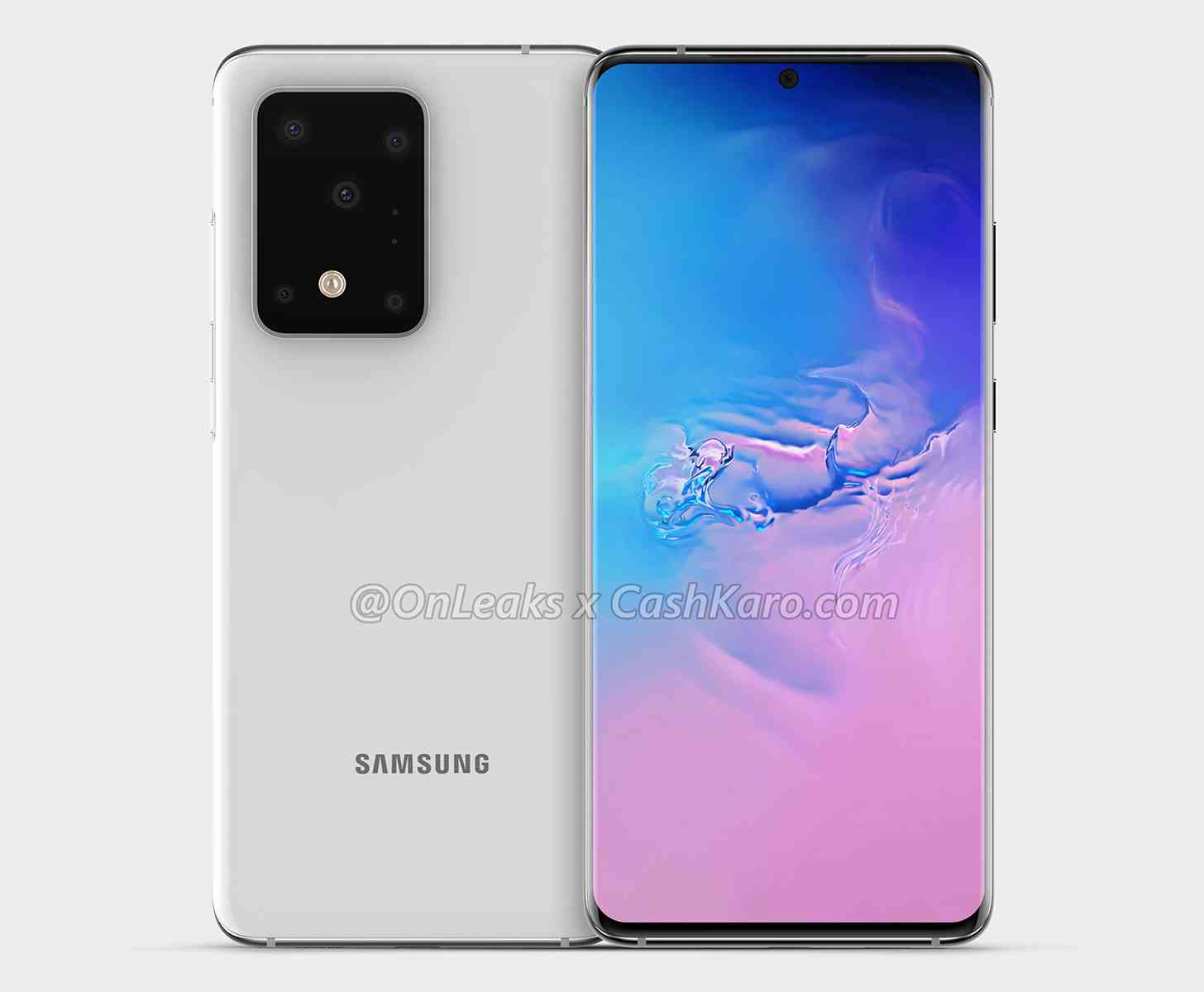 Samsung Galaxy S11+ renders