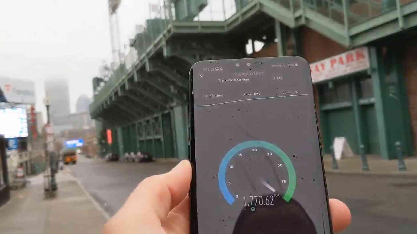 Verizon 5G Boston