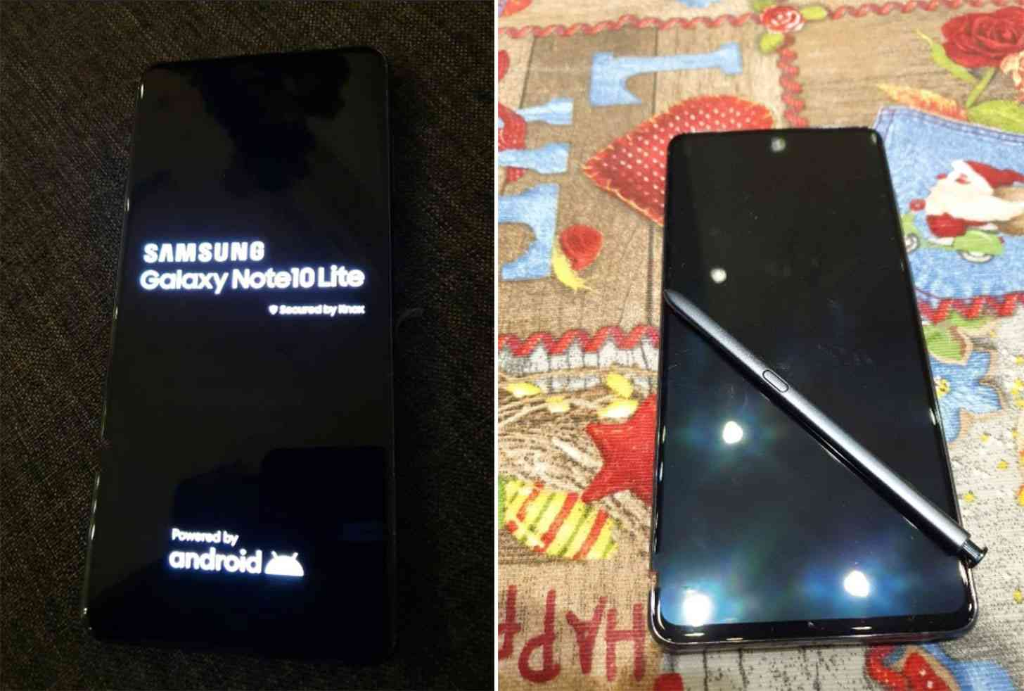 Galaxy Note 10 Lite hands-on photos