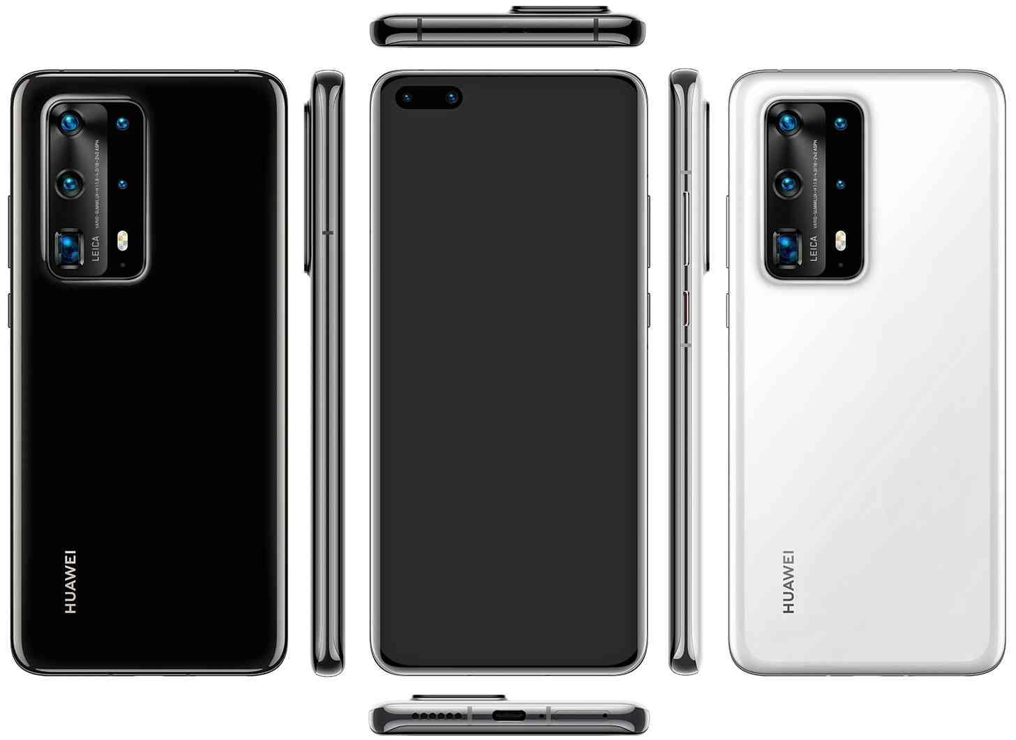 Huawei P40 Pro image leak