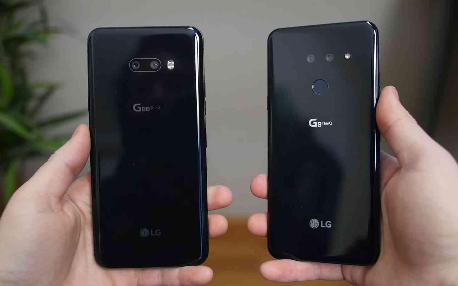LG G8X, G8 ThinQ