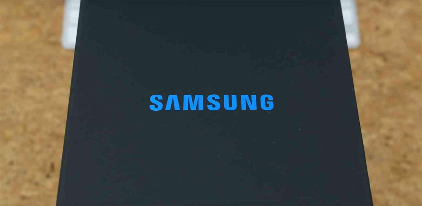 Samsung packaging