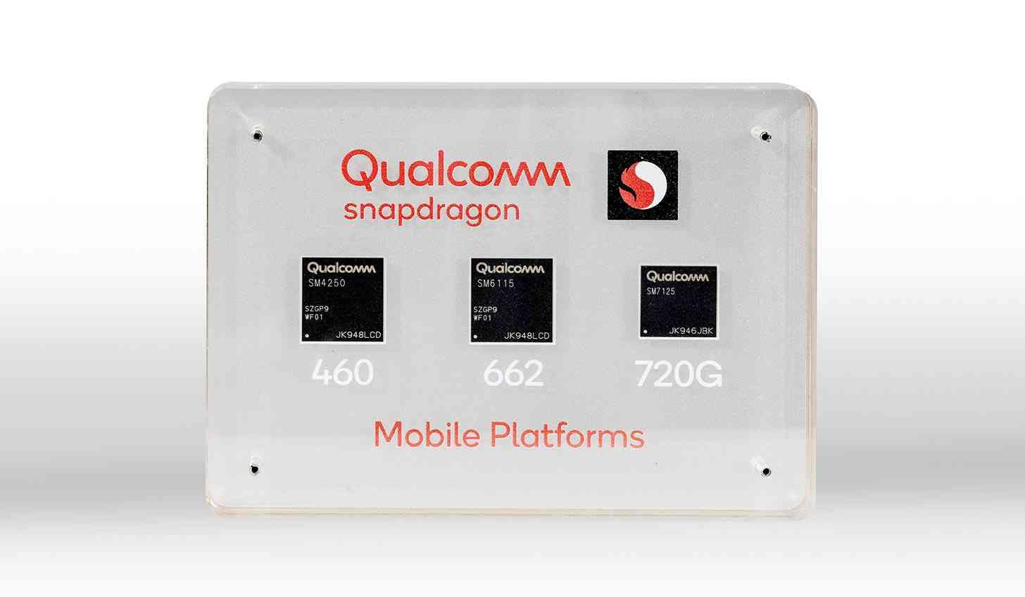 Snapdragon 720G, 662, 460