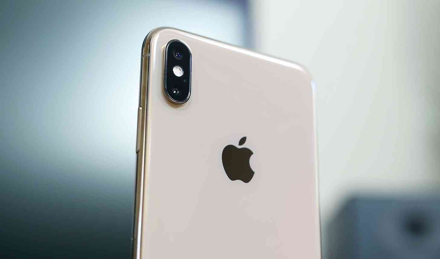 Apple logo iPhone XS Max