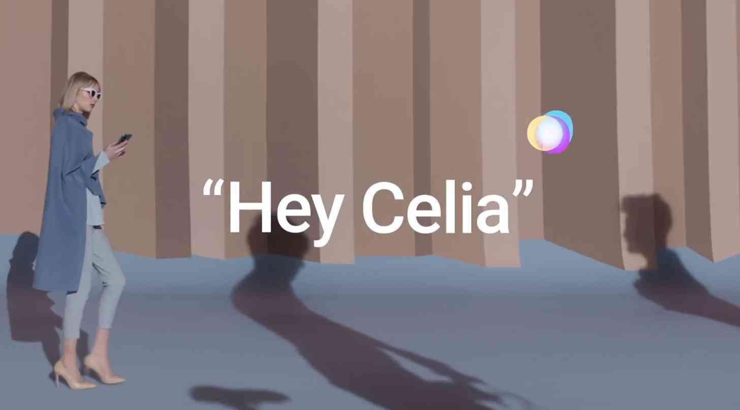Huawei Celia voice assistant