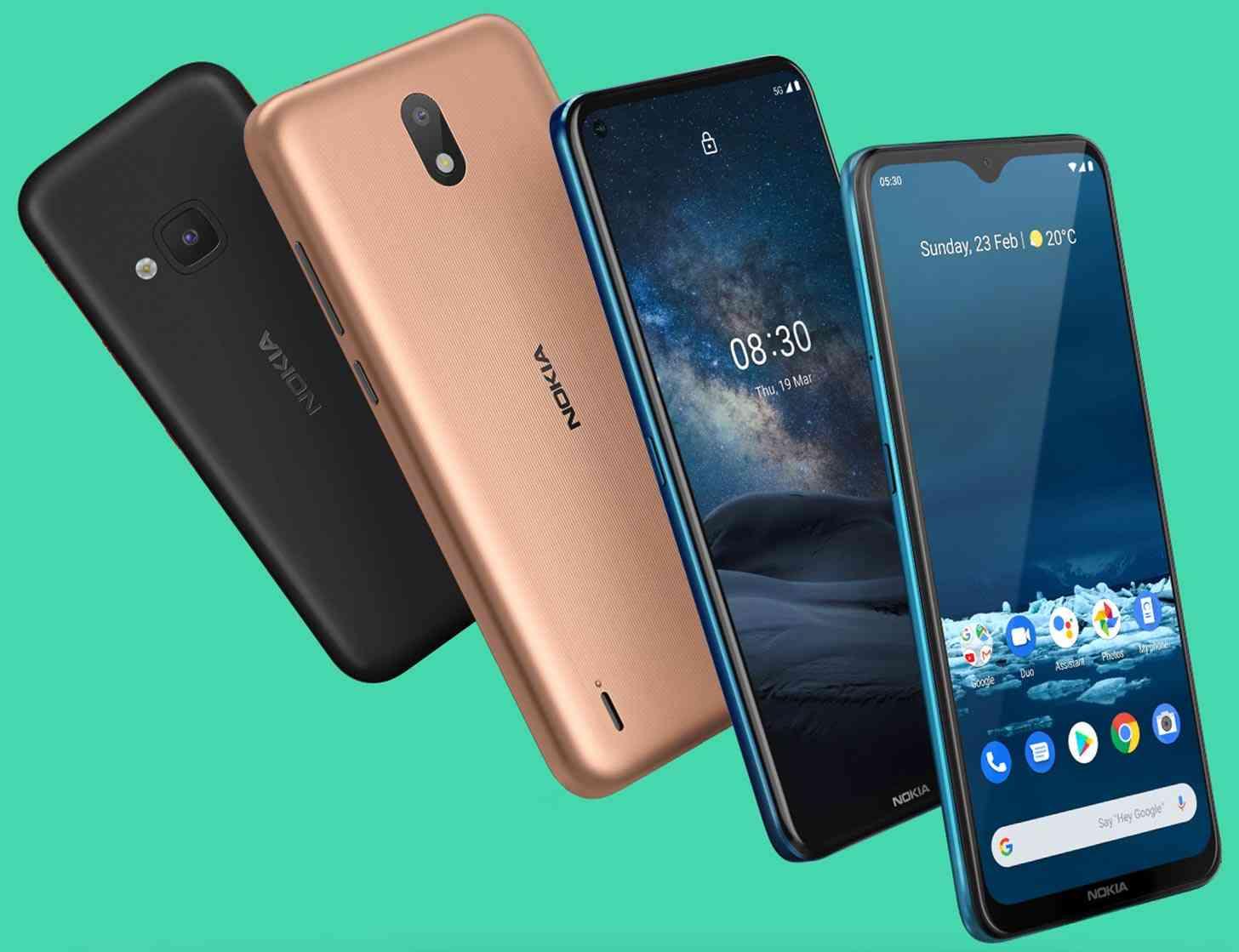 Nokia 8.3 5G, 5.3, 1.3, 5310