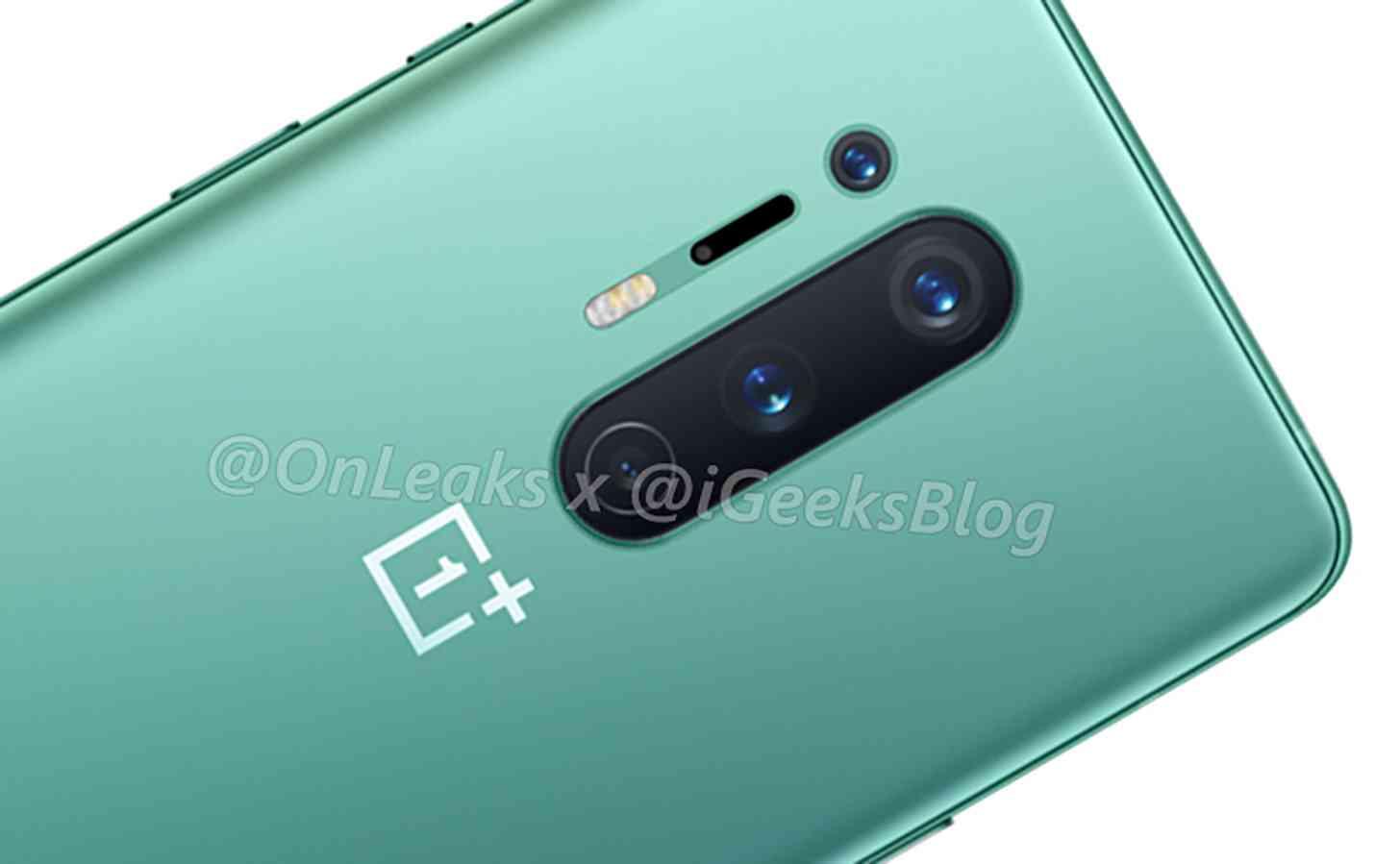OnePlus 8 Pro green cameras