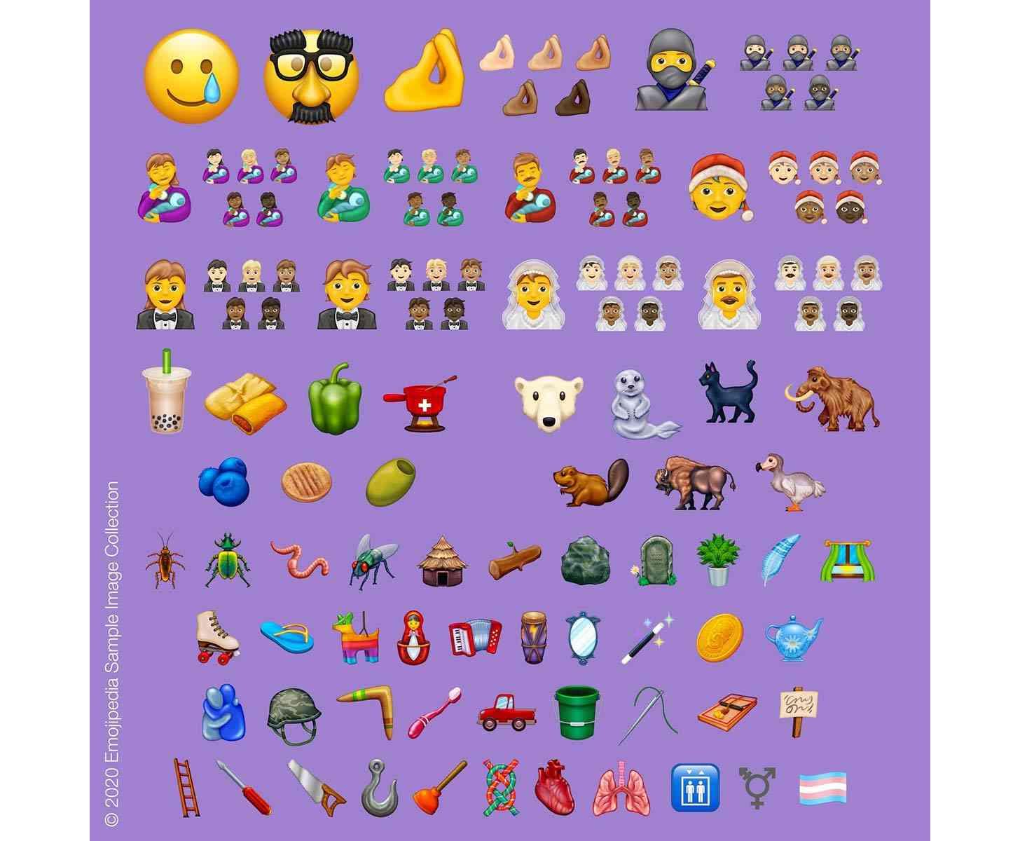 Emoji 13 release